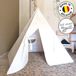 Tipi Little Indian BLANC