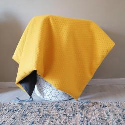 Tapis carré - Moutarde